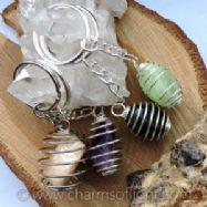 Tumble Stone Keychains